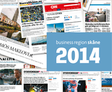 Business Region Skåne Årsrapport 2014